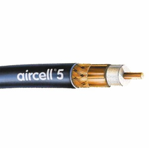 Aircell 5 koaksialkabel lavtap 102m