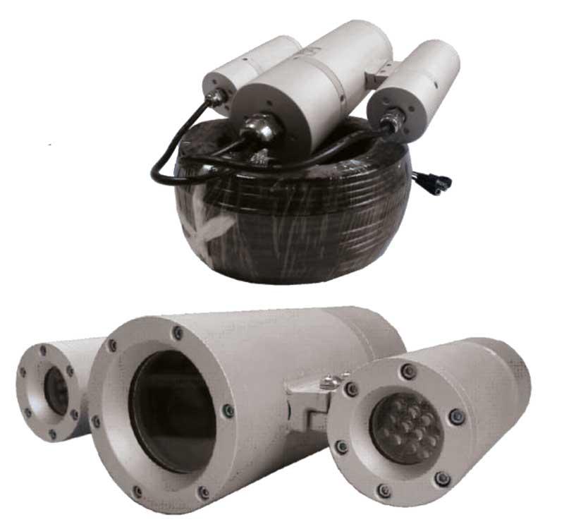 undervannskamera med kabel