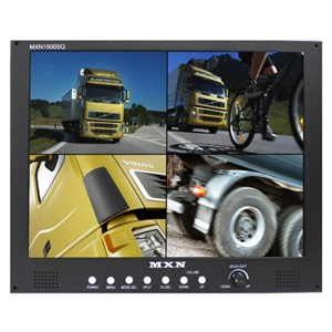 "Monitor 15"" Quad for buss system A"