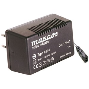 INN:230VAC UT:18VAC 1,1A AC/AC adapter